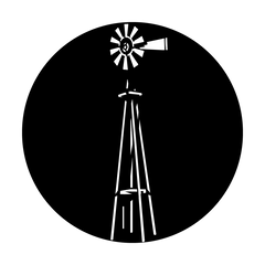 Apollo Windmill Standing Gobo
