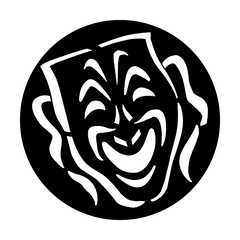 Apollo Mask Comedy Gobo
