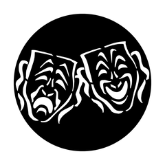 Apollo Masks Tragedy/Comedy Gobo