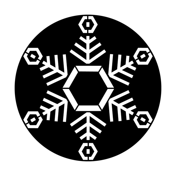 Apollo Snowflake Single 2 Gobo