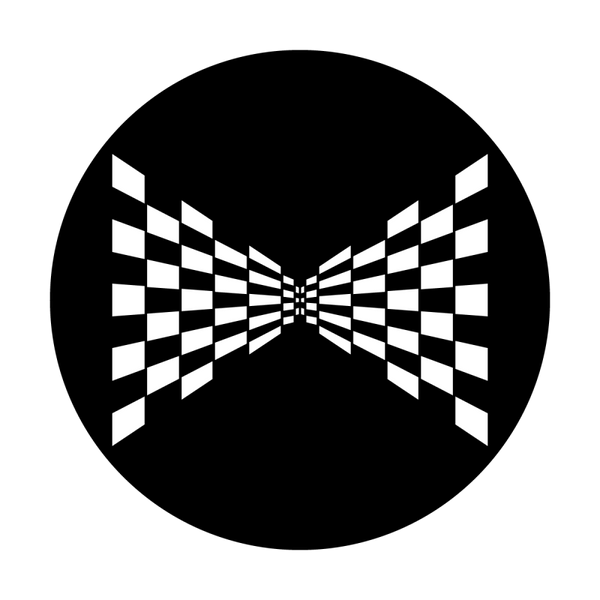 Apollo Perspective Checkerboard Gobo