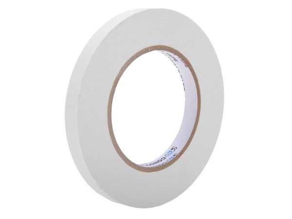 "CONSOLE TAPE-1/2""-WHITE 60 Yards Roll of 1/2""  White Removable Console Tape"