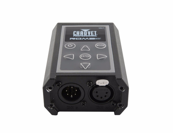 Chauvet Professional RDM2go RDM configuration and testing tool