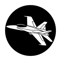 Apollo Twin Fighter Jet Gobo