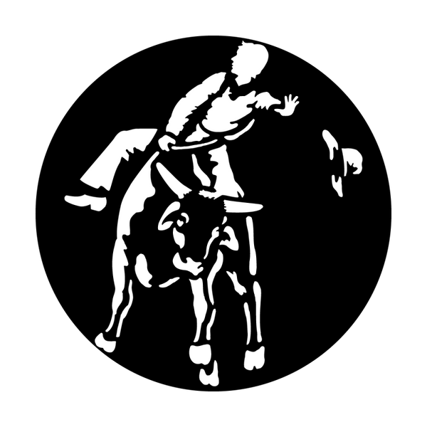Apollo West Bull Rider Gobo