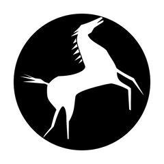 Apollo West Rearing Horse Gobo