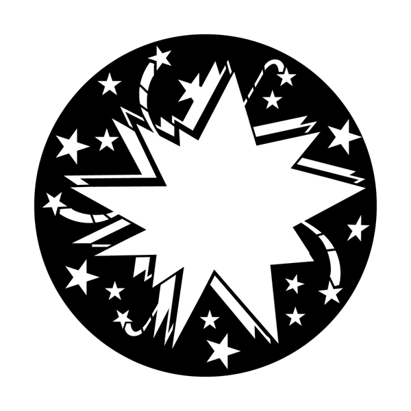 Apollo Starburst Star Gobo
