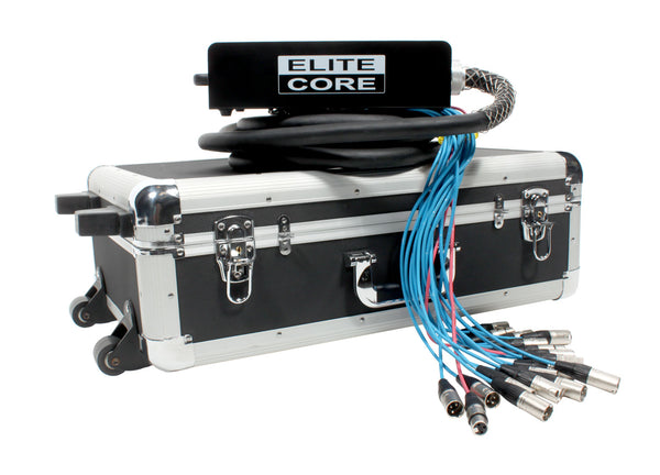 Elite Core 16 Channel 4 Return 25' Pro Audio Stage Snake Cable with OSP Carry Case