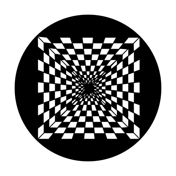 Apollo Crazy Checkerboard Gobo