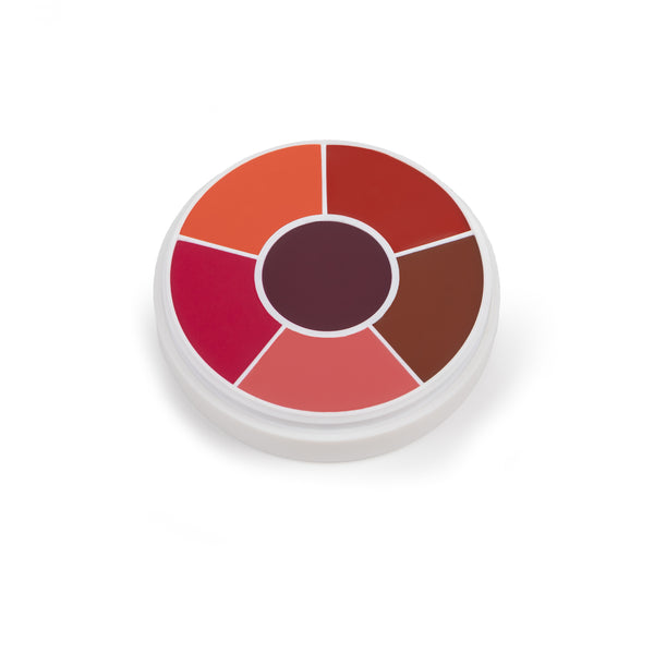 Ben Nye Creme Rouge Wheel Brights - 6 Colors