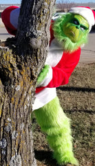Furry Green Grinch
