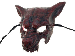 Bloody Red Wolf Mask