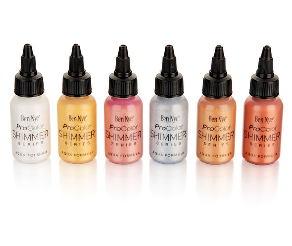 Ben Nye ProColor Airbrush Paints Shimmer Series