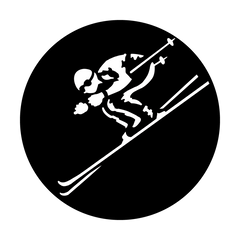 Apollo Sports - Skiing Dowhill Gobo