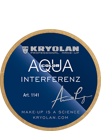 Kryolan Aquacolor Interferenz Foundation - 8ml - Gold