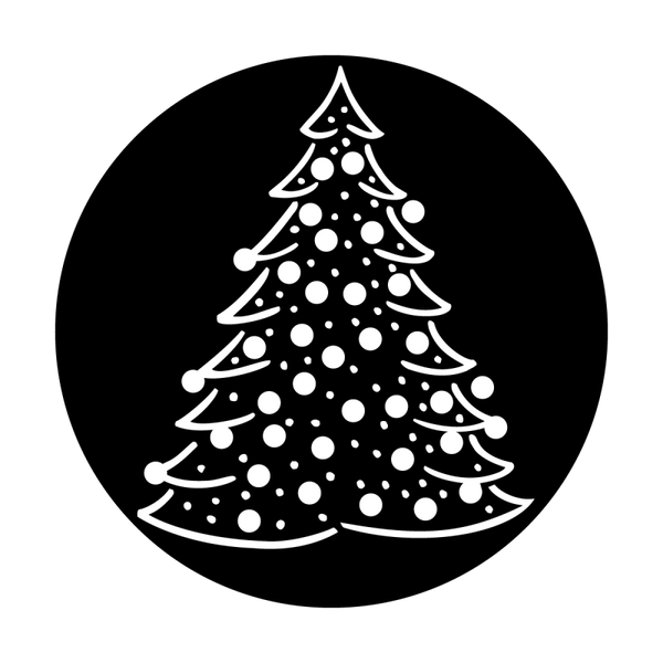 Apollo Christmas Tree Gobo
