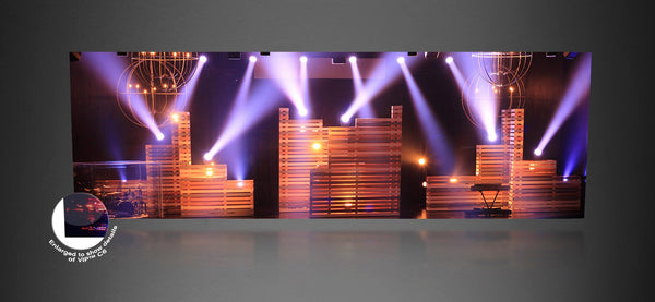 Chauvet Professional C6, SMD LED Video Panel 4-Pack