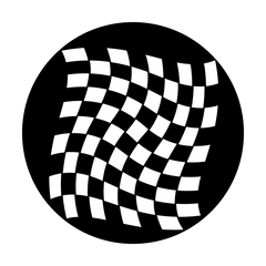Apollo Waving Checkerboard Gobo
