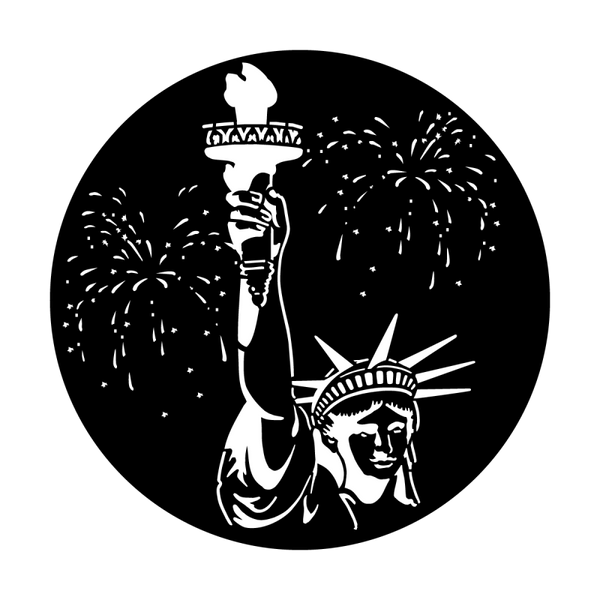 Apollo July 4th Statue of Liberty Gobo