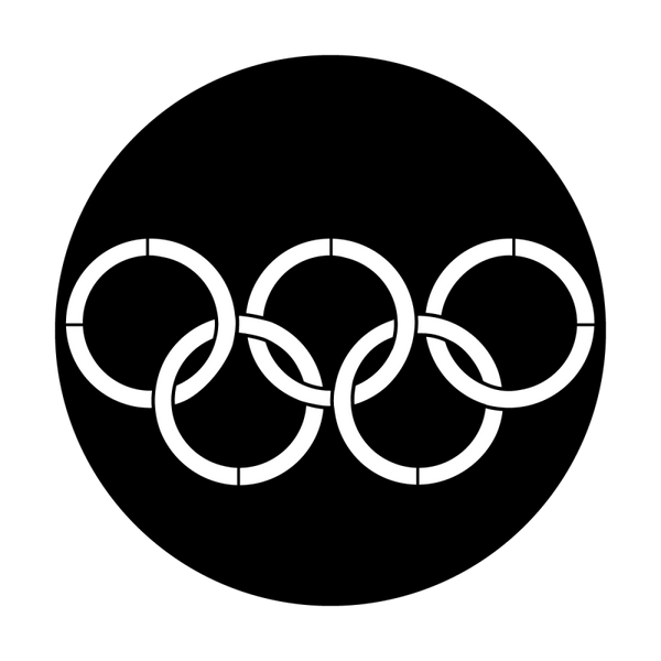 Apollo Olympic Rings Gobo