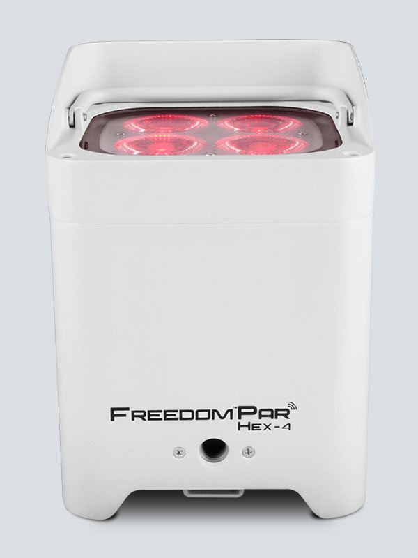 Chauvet DJ Freedom Par Hex-4 (White Housing) [w/ IRC-6 remote]