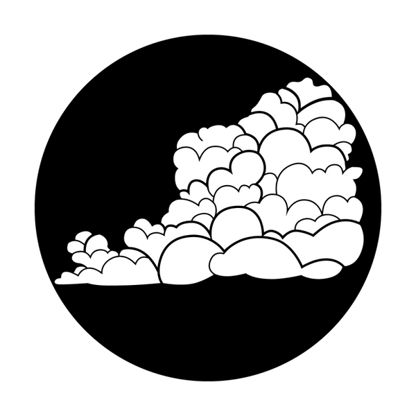 Apollo Clouds - Cartoon Gobo