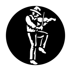 Apollo West Fiddle Player Gobo