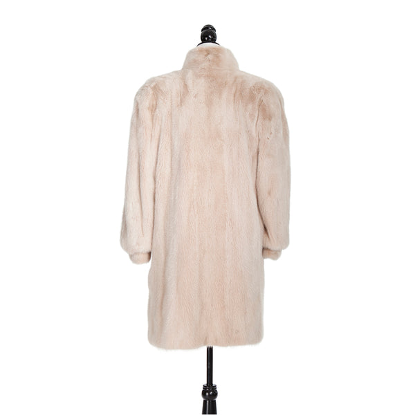 Blush Mink Trotter Coat