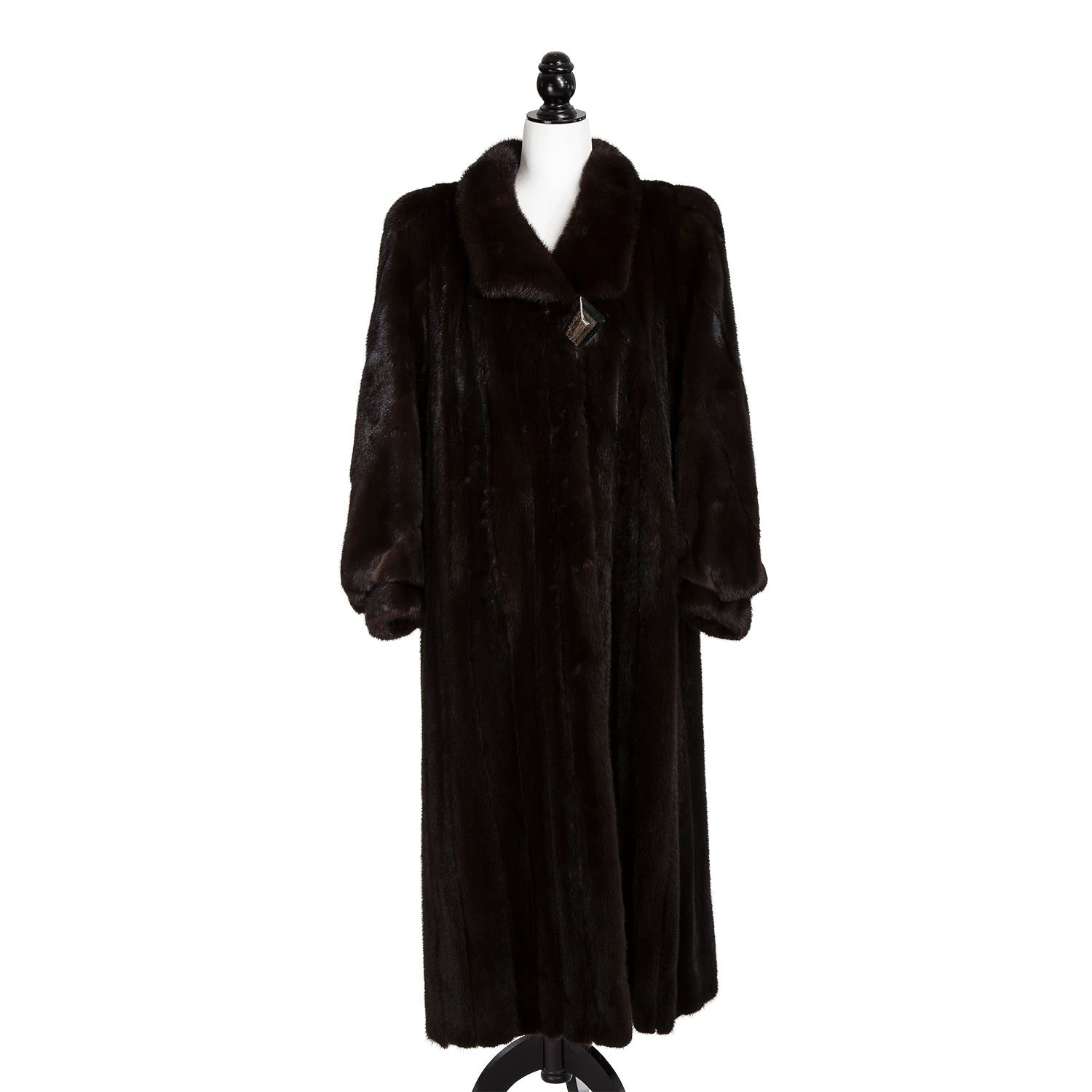 Dark Ranch Mink Coat