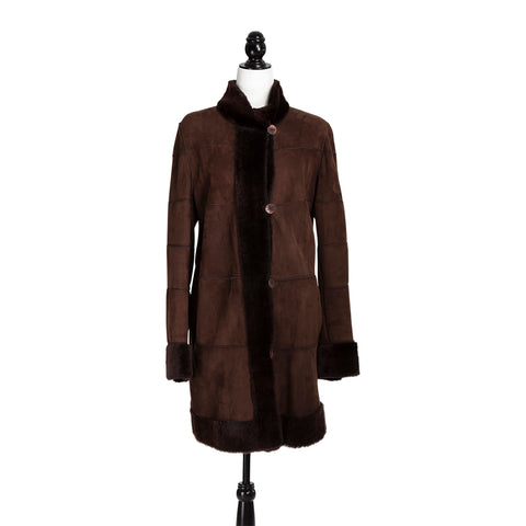 Italian Shearling Short Coat