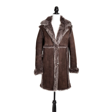 Brown Toscana Lamb Shearling Jacket