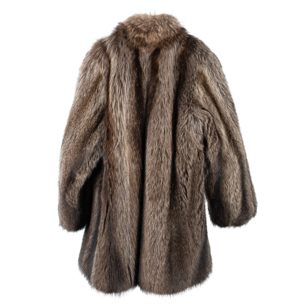 Raccoon Classic Car Coat
