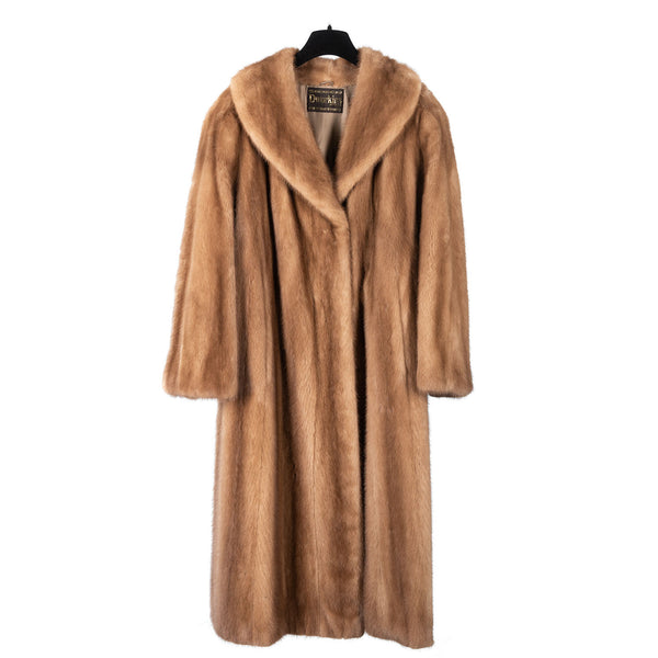 Pastel Male Mink Full Length Coat