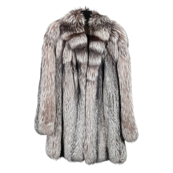 Silver Fox Car Coat