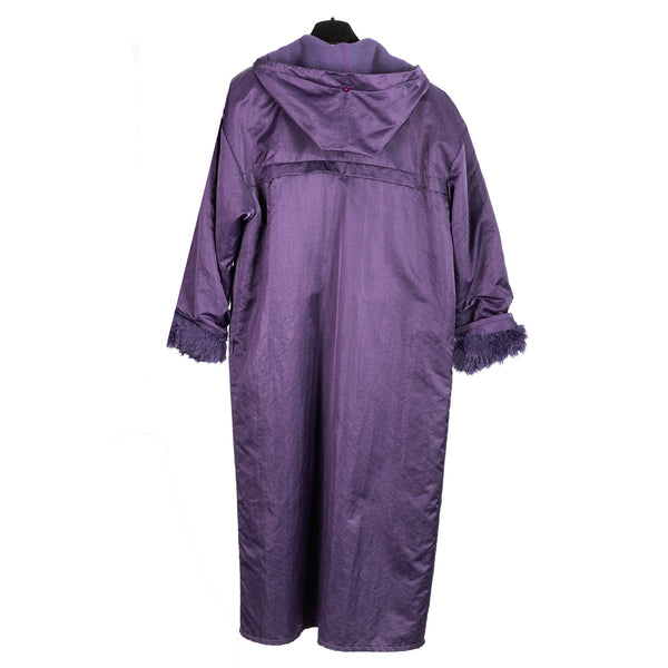 Violet Purple Cloth Coat