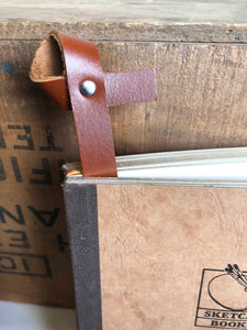 Leather Bookmarks