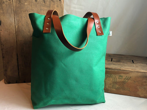 The Daisy Tote - Green