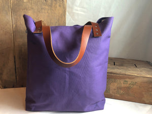 The Daisy Tote - Purple