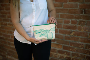 The Charlene Zipper Pouch