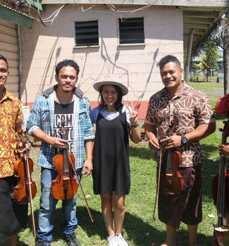 Meeting The National Orchestra of Samoa