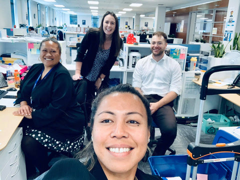 Tanya and her colleagues from the Manukau Police Prosecution Service
