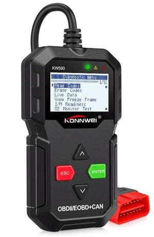 All-in-One Automotive Scanner OBDII Car Diagnostic Code Reader