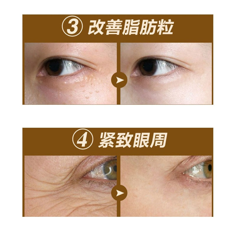 Korean Black Pearl Collagen Eye Mask for Dark Circles and Anti Wrinkle (60 Patches)