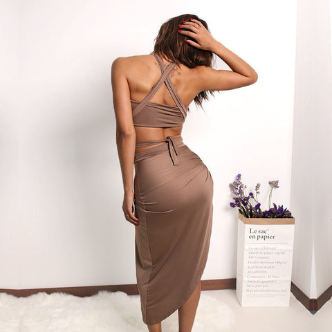 New Bandage Bodycon Dress