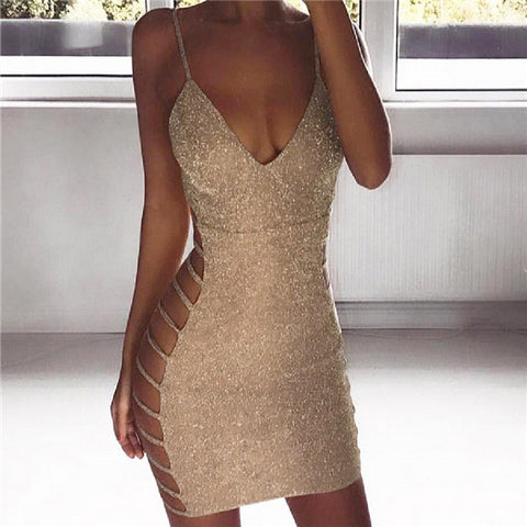 Women's Bodycon Mini Dress