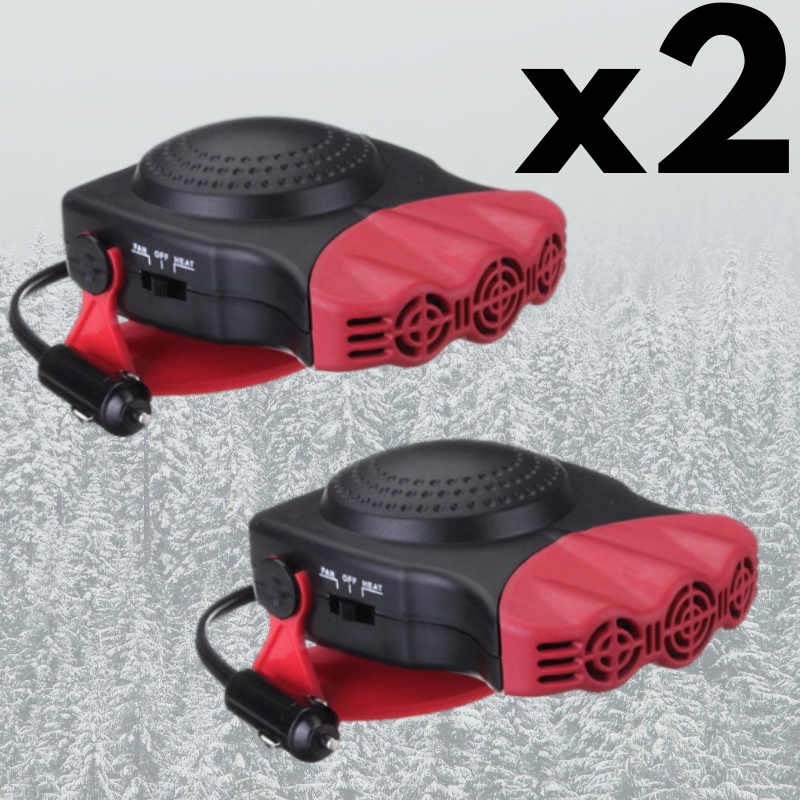 PROMO-2 Portable Car Heaters RD Bundle