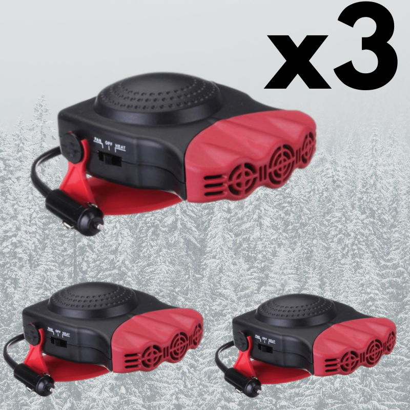PROMO-3 Portable Car Heaters RD Bundle