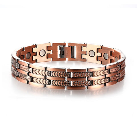 Men's Copper Pain Relief Therapy Bracelet