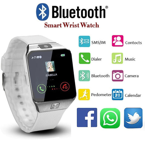 LED Bluetooth Smartwatch for iPhone & Android