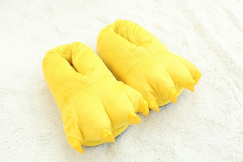 Image of Monster Claw Plush Slippers